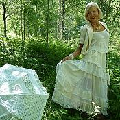 Одежда ручной работы. Ярмарка Мастеров - ручная работа Этим летом в Кольцово.  юбочка.. Handmade.