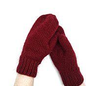 """Варежки ручной работы. Ярмарка Мастеров - ручная работа Варежки """"Soft_classic_mittens"""". Handmade."""