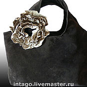 Сумки и аксессуары handmade. Livemaster - original item Bag and brooch.