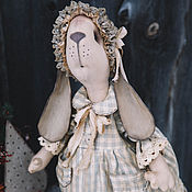 Куклы и игрушки ручной работы. Ярмарка Мастеров - ручная работа Зайка Поля.. Handmade.