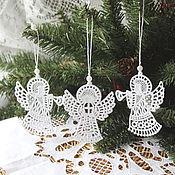 Работы для детей, handmade. Livemaster - original item Angel lace. Handmade.