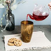 Посуда handmade. Livemaster - original item Large Wooden Glass 15#21. Handmade.