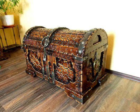 Мебель ручной работы. Ярмарка Мастеров - ручная работа. Купить Сундук. Handmade. Сундучок, сундук купить