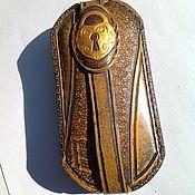 Аксессуары ручной работы. Ярмарка Мастеров - ручная работа Ключница. Чехол для ключей. Handmade.