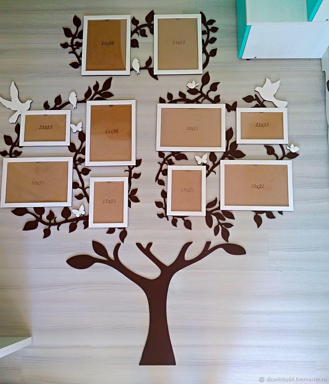 """Коллаж """"Family tree"""", Фоторамки, Саратов,  Фото №1"""