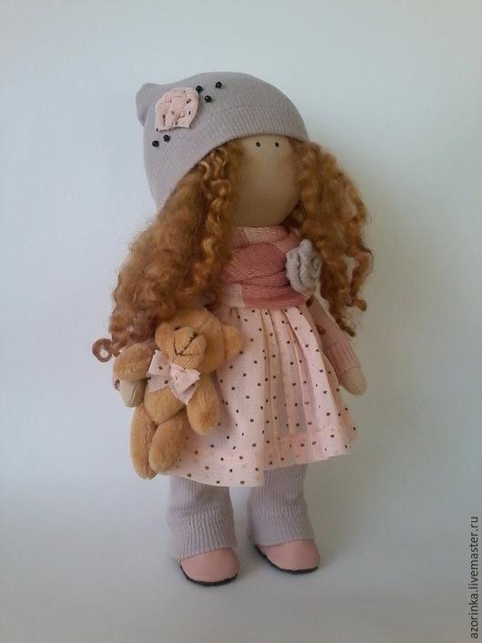 Коллекционные куклы ручной работы. Ярмарка Мастеров - ручная работа. Купить Рыжик. Handmade. Рыжий, кукла в стиле Тильда
