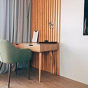 Столы ручной работы. Ярмарка Мастеров - ручная работа Рабочий стол из дуба Desk v1. Handmade.