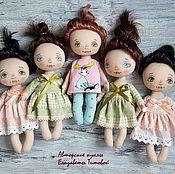 Куклы и игрушки ручной работы. Ярмарка Мастеров - ручная работа Маленькие игровые куколки. Handmade.