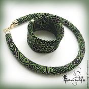 Украшения handmade. Livemaster - original item Harness bead bracelet