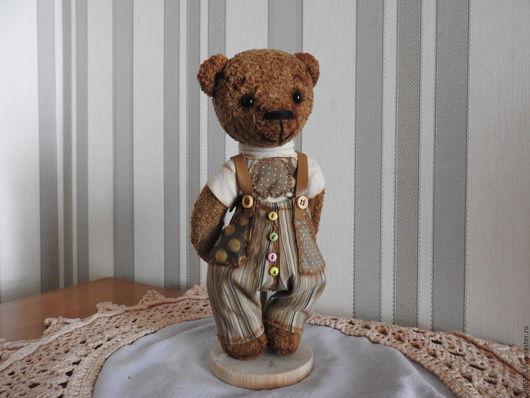 Мишки Тедди ручной работы. Ярмарка Мастеров - ручная работа. Купить мишка тедди Макс. Handmade. Коричневый, мишутка