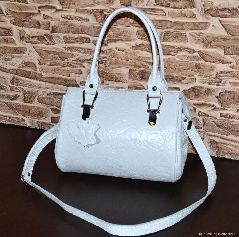 Model 30 Compact bag made of genuine leather, Classic Bag, Bogorodsk,  Фото №1