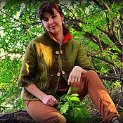 """Одежда ручной работы. Ярмарка Мастеров - ручная работа Жакет"""" лесной"""". Handmade."""