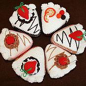 Куклы и игрушки ручной работы. Ярмарка Мастеров - ручная работа Вязаный тортик. Handmade.
