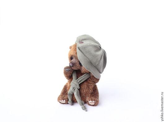 Мишки Тедди ручной работы. Ярмарка Мастеров - ручная работа. Купить Шин мишка тедди мальчик 14 см. Handmade.