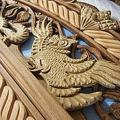 Для дома и интерьера ручной работы. Ярмарка Мастеров - ручная работа Наличник на межконатную дверь (резной). Handmade.