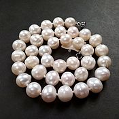 Necklace handmade. Livemaster - original item Beautiful necklace of natural pearls