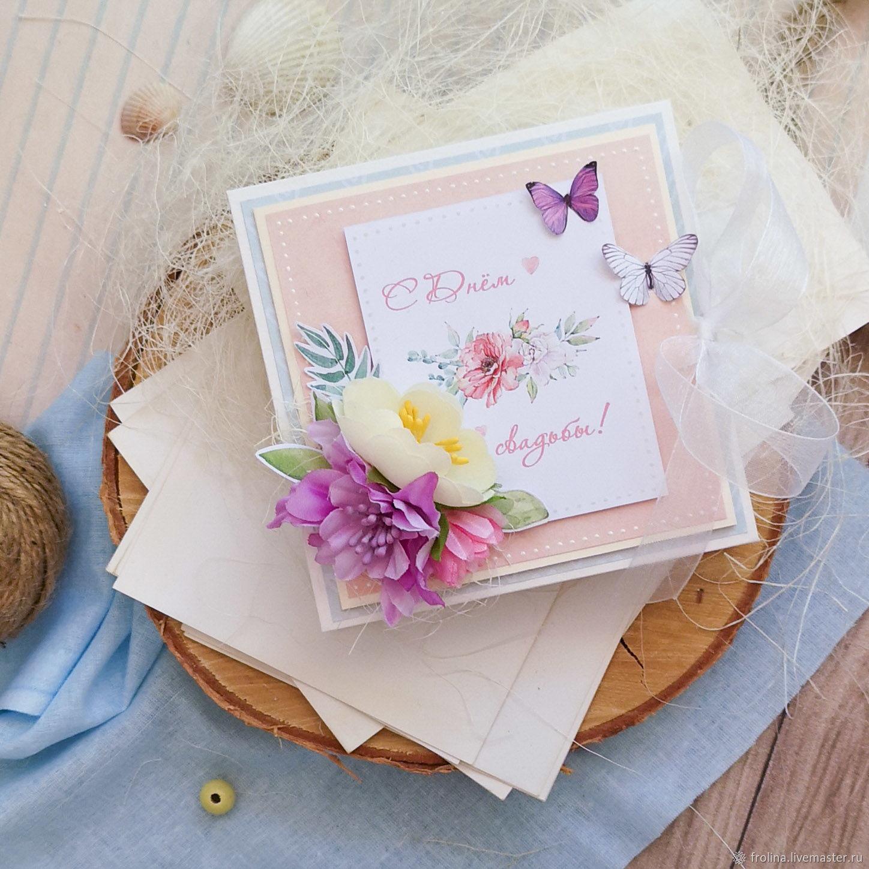 Коробочка для денег свадебная, Открытки, Москва, Фото №1