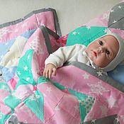 Комплекты одежды ручной работы. Ярмарка Мастеров - ручная работа Детское одеяло Вишенка. Handmade.