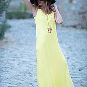Одежда ручной работы. Ярмарка Мастеров - ручная работа Платье, Платье в пол, Длинное платье, Летнее платье, ЕУГ. Handmade.