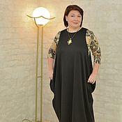 Sundresses handmade. Livemaster - original item Dress-diamond black. Article No. 0287. Handmade.