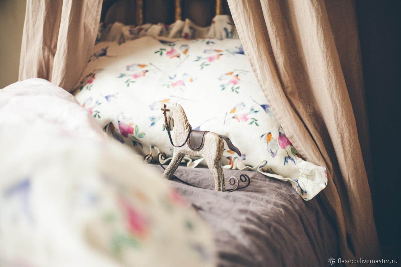 """Детское льняное постельное белье """"Маленькая принцесса"""", Комплекты постельного белья, Минск,  Фото №1"""
