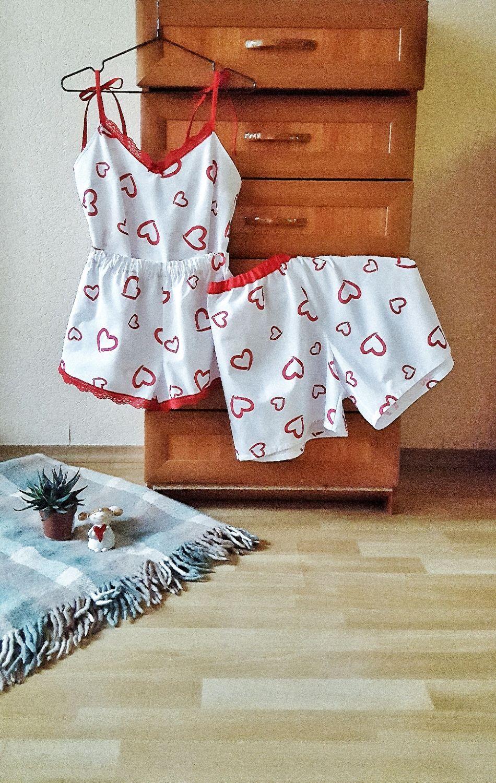"""Комплект  для пары """"Love  is..."""", Комплекты белья, Москва,  Фото №1"""