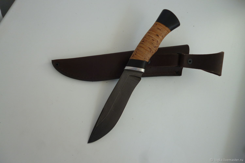 Golden eagle knife made of Damascus steel, Knives, Vyazniki,  Фото №1