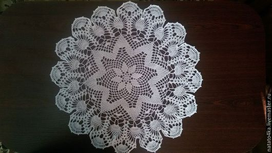 Текстиль, ковры ручной работы. Ярмарка Мастеров - ручная работа. Купить Салфетка крючком. Handmade. Салфетка крючком, скатерть крючком