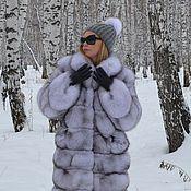 Одежда handmade. Livemaster - original item Fur coat Fox volevogo. Cross.. Handmade.