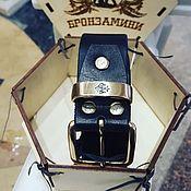 Аксессуары handmade. Livemaster - original item leather belt.. Handmade.