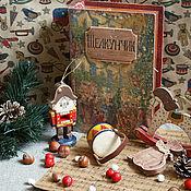 Подарки к праздникам ручной работы. Ярмарка Мастеров - ручная работа Щелкунчик - набор елочных игрушек. Handmade.