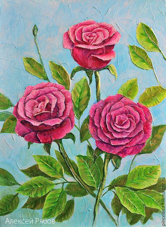 название `Розы в лазурном свете`