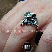 "Украшения handmade. Livemaster - original item Ring ""Raven"" sterling silver(925). Handmade."