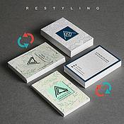 Дизайн ручной работы. Ярмарка Мастеров - ручная работа Рестайлинг логотипа, визитки, фирменного стиля. Handmade.