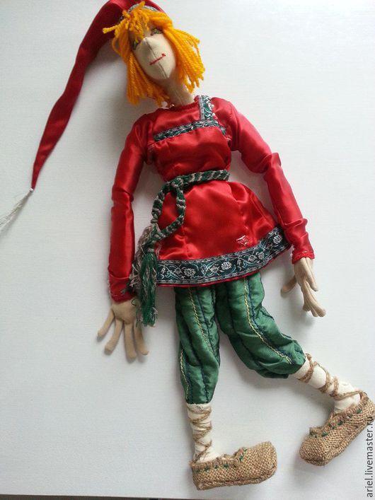 """Сказочные персонажи ручной работы. Ярмарка Мастеров - ручная работа. Купить """"Емеля"""". Handmade. Кукла интерьерная, русский сувенир"""