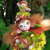 Куклы и игрушки ручной работы. Ярмарка Мастеров - ручная работа куклы мухоморы После дождичка в четверг.. Handmade.