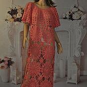 handmade. Livemaster - original item knit dress. Handmade.