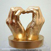 Свадебный салон ручной работы. Ярмарка Мастеров - ручная работа Копии рук молодоженов 3 D. Handmade.