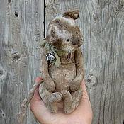 Stuffed Toys handmade. Livemaster - original item Old cat.... Handmade.