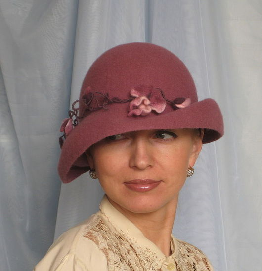 """Шляпы ручной работы. Ярмарка Мастеров - ручная работа. Купить Дамская шляпа """"Пробуждение"""". Handmade. Шляпа, авторская ручная работа"""
