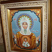 Картины и панно handmade. Livemaster - original item The Mother Of God Icon