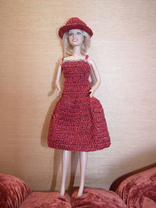 Одежда для кукол ручной работы. Ярмарка Мастеров - ручная работа. Купить платье для барби. Handmade. Одежда, на заказ, ребенку