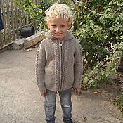 Работы для детей, ручной работы. Ярмарка Мастеров - ручная работа Кофта вязанная на мальчика. Handmade.