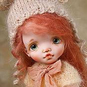 Dolls handmade. Livemaster - original item Paula 18cm doll polymer clay. Handmade.