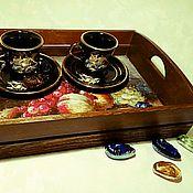 Для дома и интерьера handmade. Livemaster - original item A tray of Delicious fruit. Handmade.