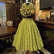 Одежда ручной работы. Ярмарка Мастеров - ручная работа Юбка в стиле 60-х. Handmade.