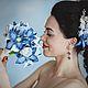 Свадебные цветы ручной работы. Ярмарка Мастеров - ручная работа. Купить Букет невесты «Морское путешествие». Handmade. Тёмно-синий