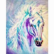 Картины и панно handmade. Livemaster - original item The Picture Of The Horse 50h60. Handmade.
