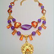 Украшения handmade. Livemaster - original item Set of jewelry in Oriental style Carnival. Handmade.