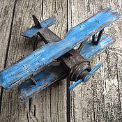 Комплекты аксессуаров для дома ручной работы. Ярмарка Мастеров - ручная работа Ретро самолет. Handmade.